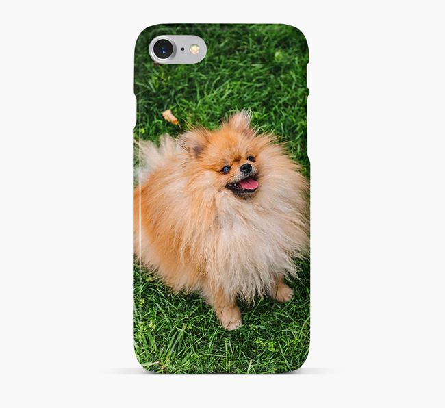 Phone Case with photo of your Pomeranian