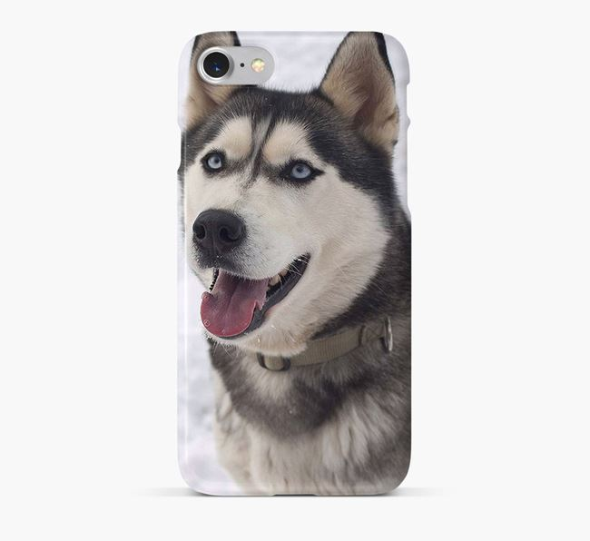 Phone Case with photo of your Siberian Husky