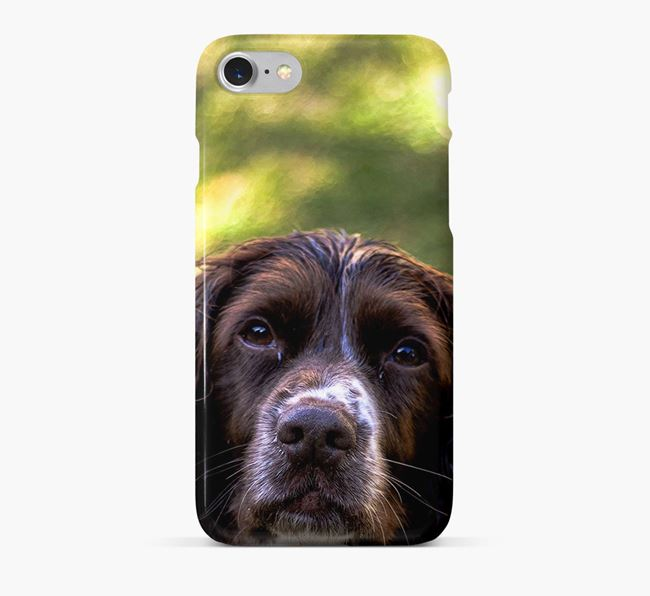 Phone Case with photo of your Springer Spaniel