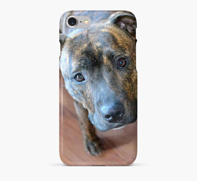 Phone Case with photo of your Staffordshire Bull Terrier