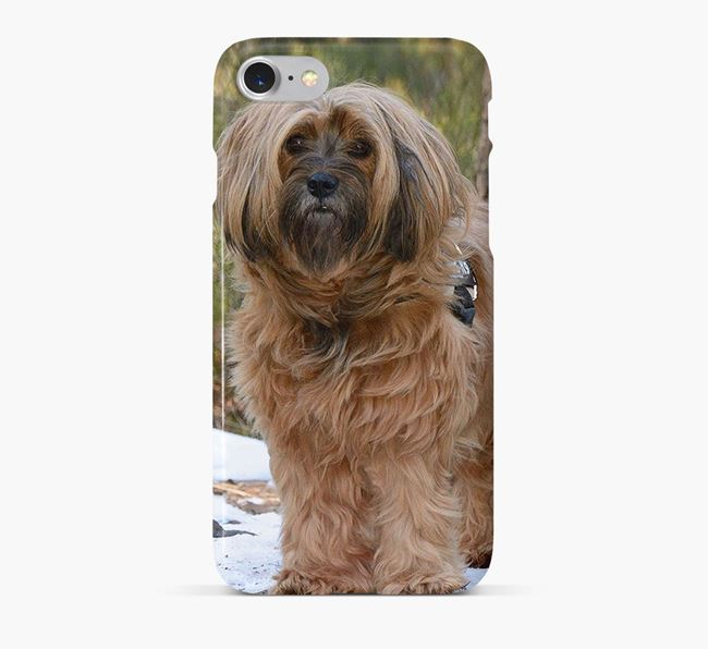 Phone Case with photo of your Tibetan Terrier
