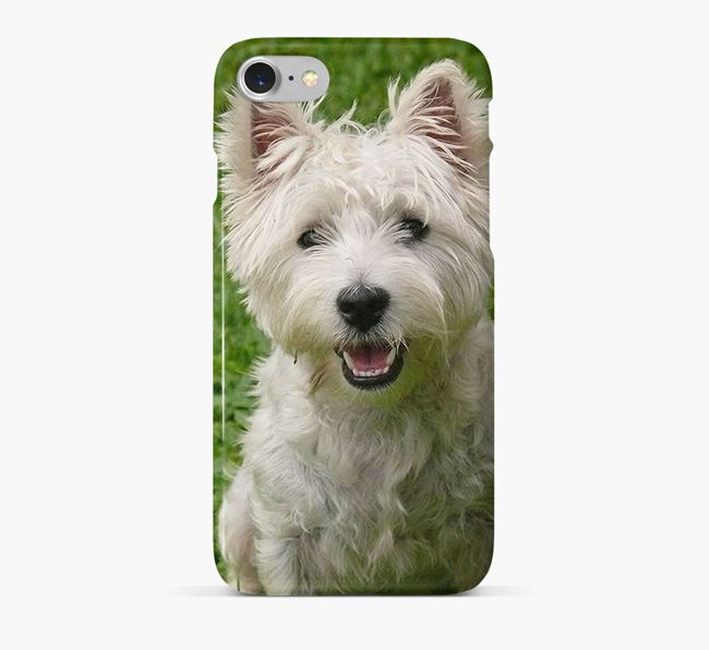 Phone Case with photo of your West Highland White Terrier