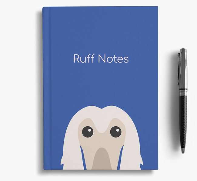 'Ruff Notes' Afghan Hound Notebook