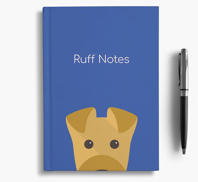 'Ruff Notes' Airedale Notebook