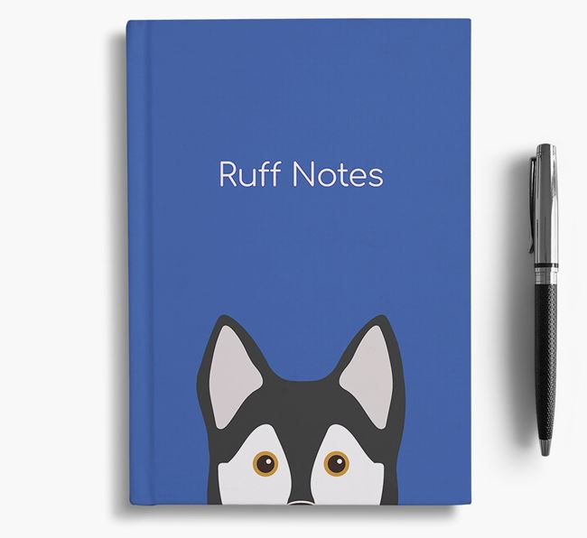 'Ruff Notes' Klee Kai Notebook