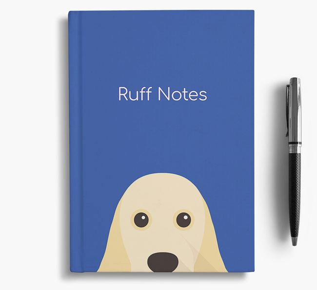 'Ruff Notes' Spaniel Notebook