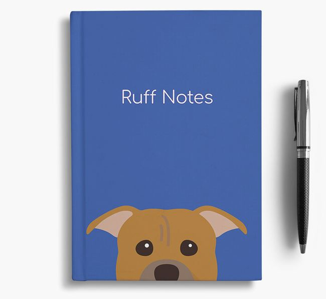 'Ruff Notes' Pitbull Notebook