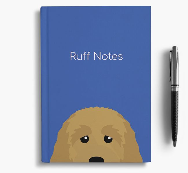 'Ruff Notes' Labradoodle Notebook