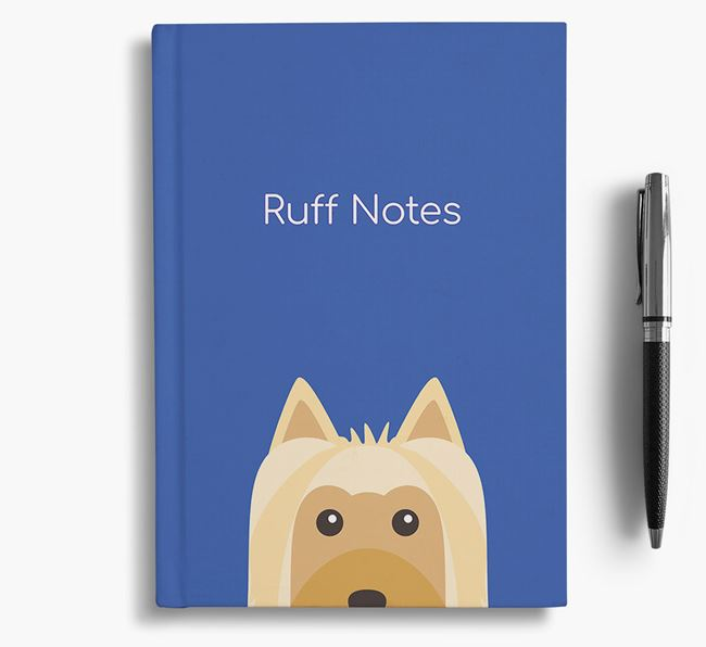 'Ruff Notes' Silky Notebook