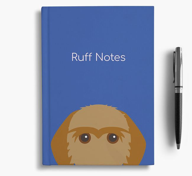 'Ruff Notes' Fauve Notebook