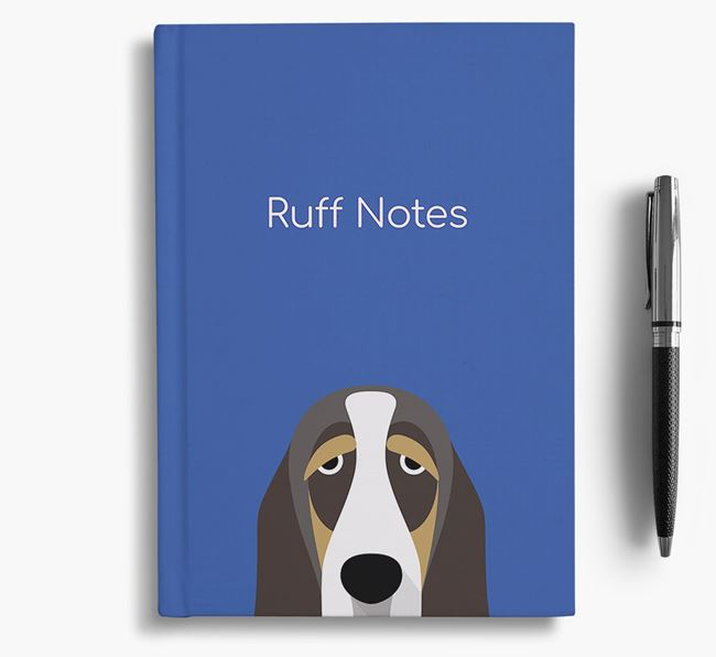 'Ruff Notes' Basset Notebook