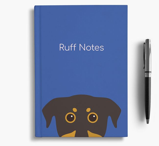 'Ruff Notes' Beauceron Notebook