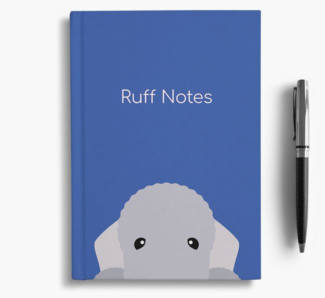 'Ruff Notes' Bedlington Notebook