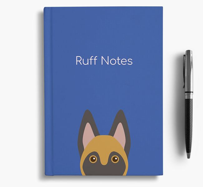 'Ruff Notes' Malinois Notebook