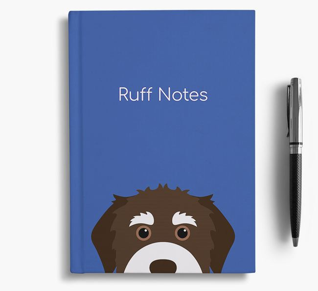 'Ruff Notes' Bernedoodle Notebook