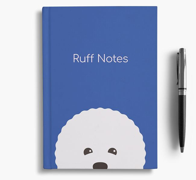 'Ruff Notes' Bichon Frise Notebook