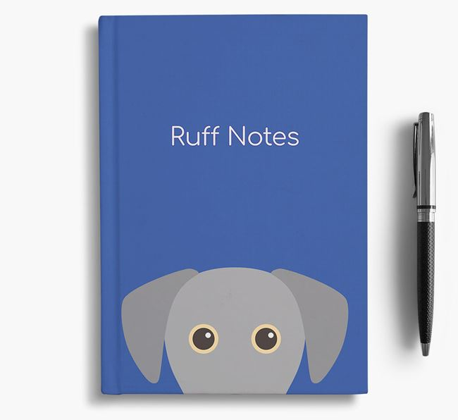 'Ruff Notes' Lacy Dog Notebook