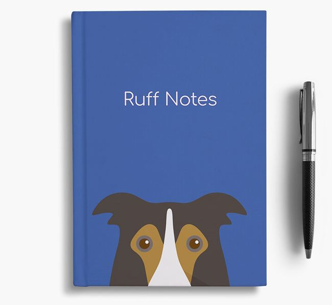 'Ruff Notes' Border Collie Notebook