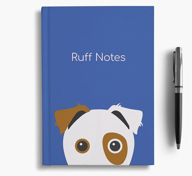 'Ruff Notes' Border Jack Notebook