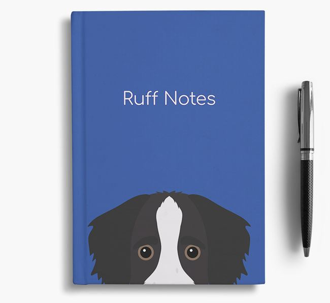 'Ruff Notes' Bordoodle Notebook