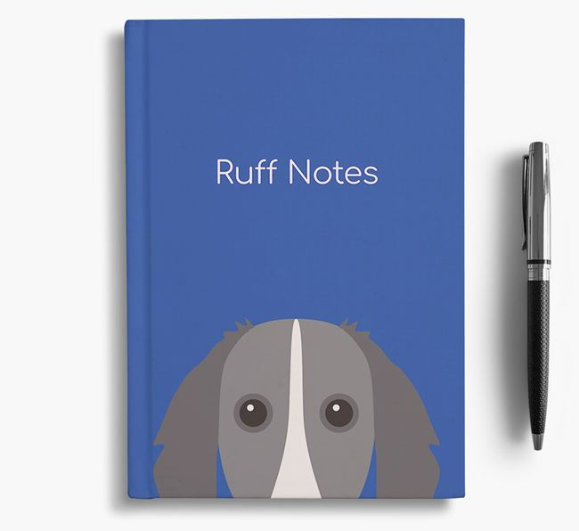 'Ruff Notes' Borzoi Notebook