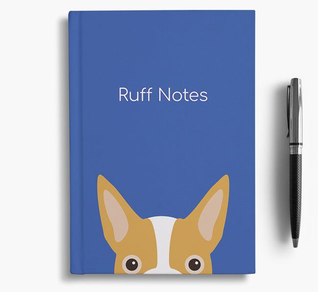 'Ruff Notes' Boston Terrier Notebook