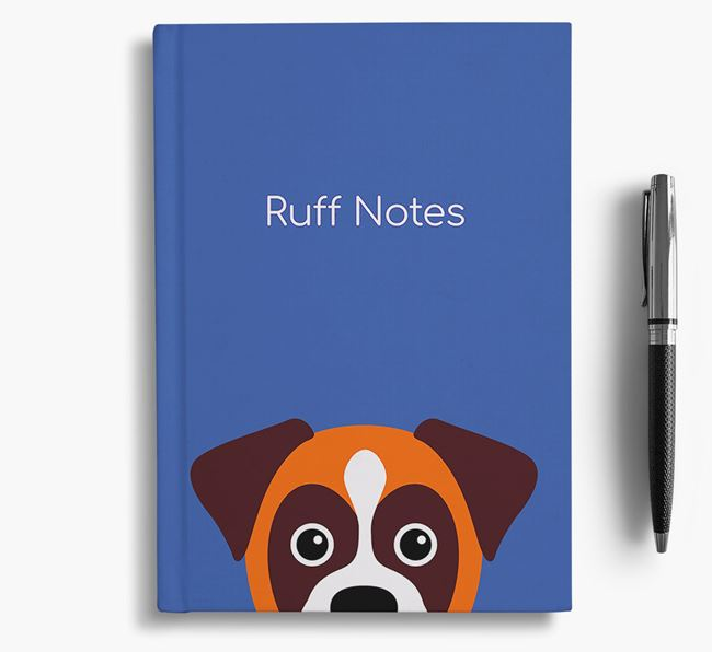 'Ruff Notes' Boxer Notebook