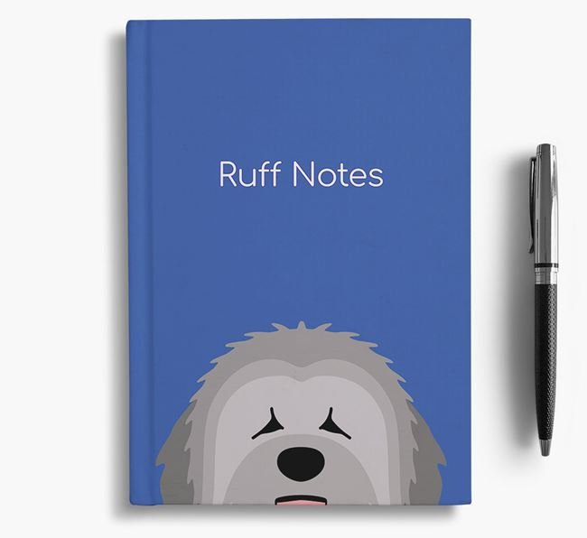 'Ruff Notes' Briard Notebook