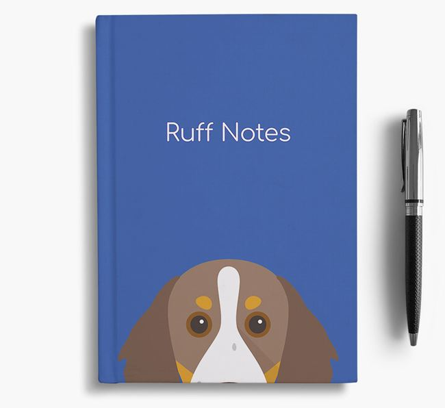 'Ruff Notes' Brittany Notebook