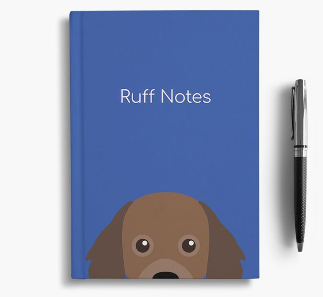 'Ruff Notes' Cavapom Notebook