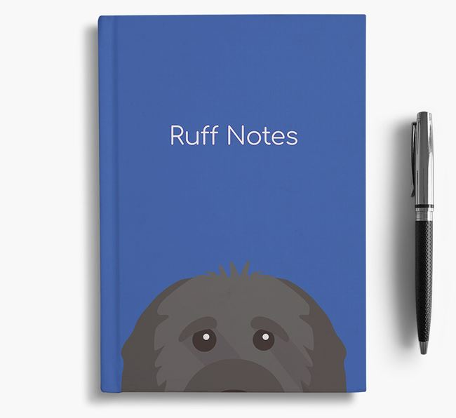 'Ruff Notes' Cavapoo Notebook