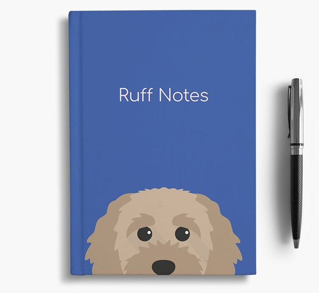 'Ruff Notes' Cavapoochon Notebook