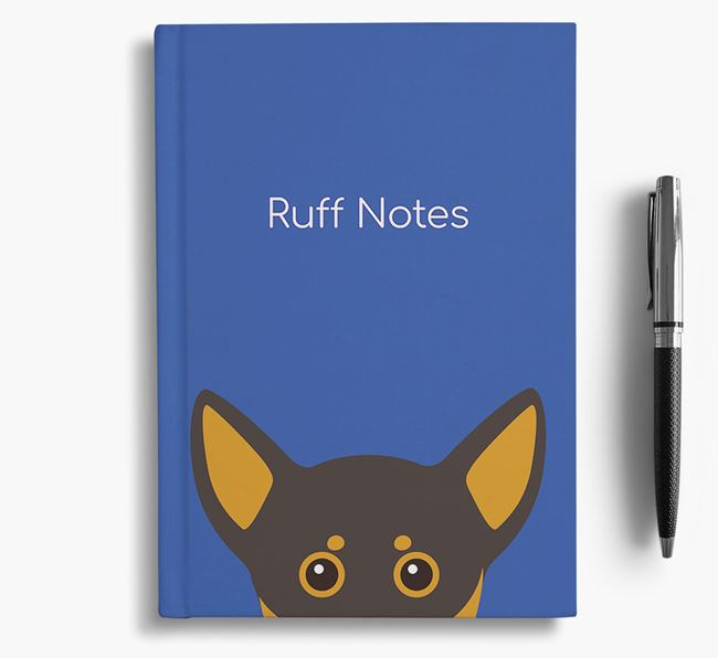 'Ruff Notes' Chiweenie Notebook