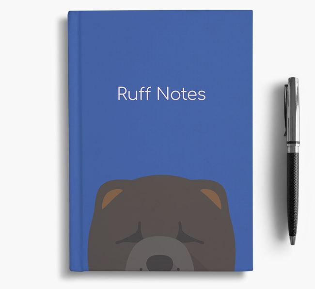 'Ruff Notes' Chow Chow Notebook
