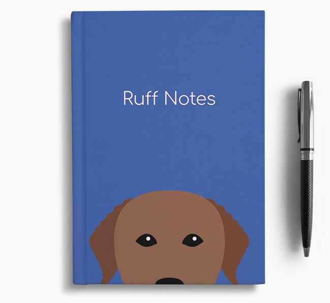 'Ruff Notes' Curly Notebook