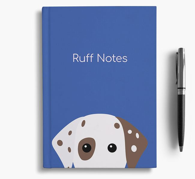 'Ruff Notes' Dalmatian Notebook