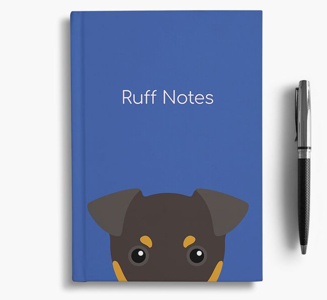 'Ruff Notes' Toy Terrier Notebook