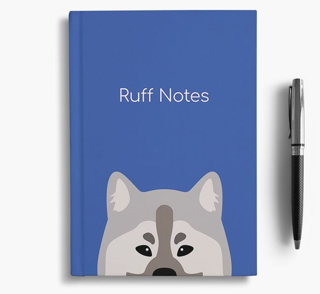 'Ruff Notes' Eurasier Notebook