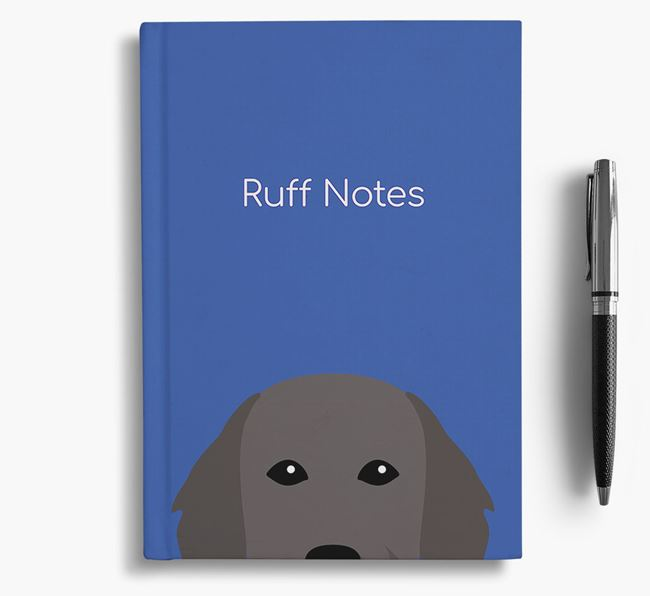 'Ruff Notes' Flattie Notebook