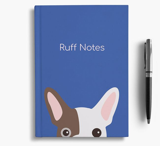 'Ruff Notes' Frenchie Notebook
