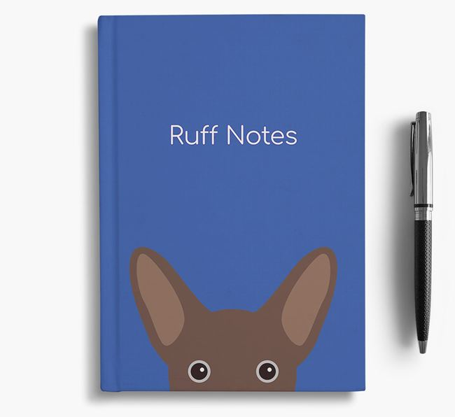 'Ruff Notes' French Jack Notebook