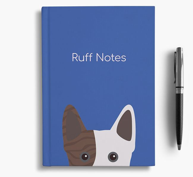 'Ruff Notes' Frenchie Staff Notebook