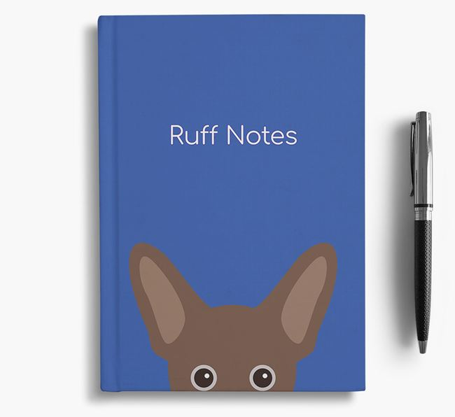 'Ruff Notes' French Pin Notebook