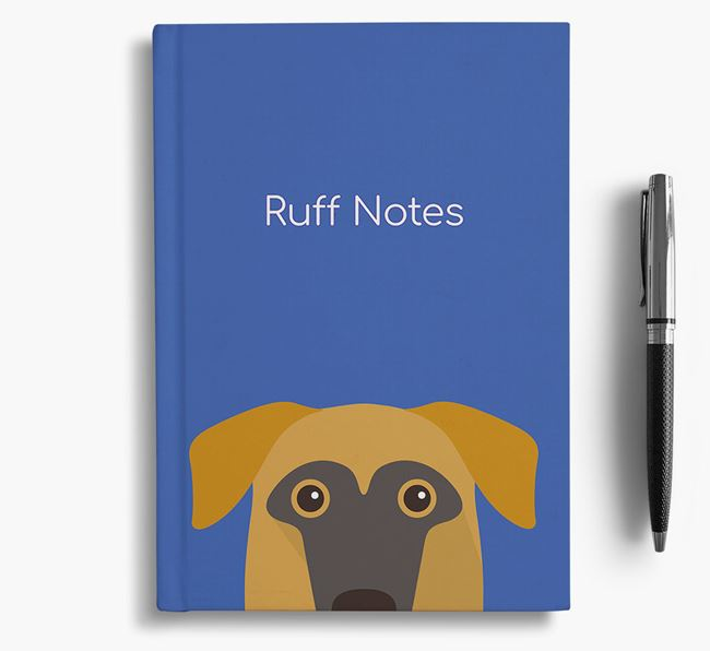 'Ruff Notes' Sheprador Notebook