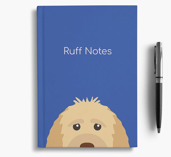 'Ruff Notes' Goldendoodle Notebook
