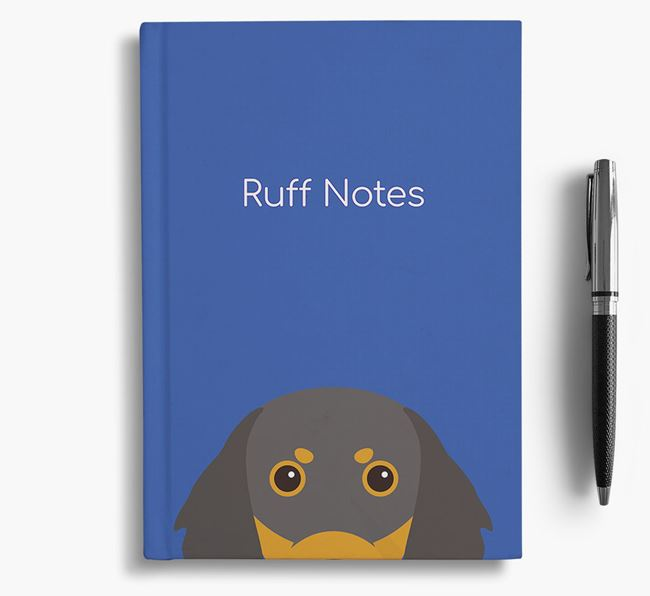 'Ruff Notes' Gordon Setter Notebook