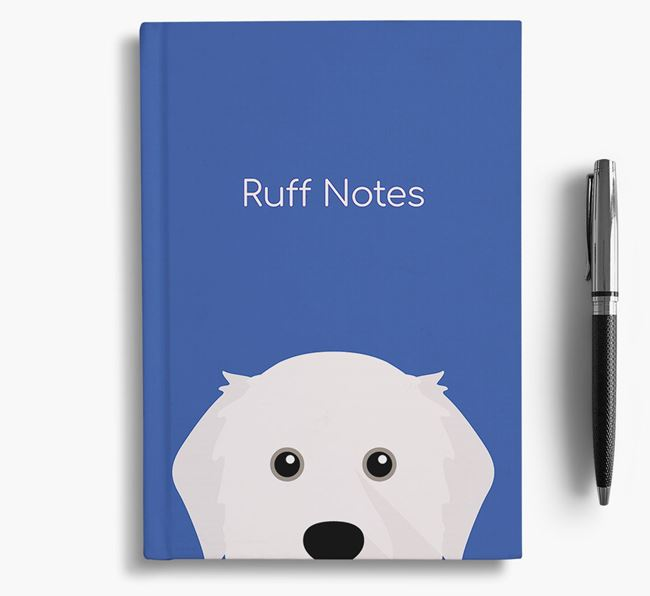 'Ruff Notes' Great Pyrenees Notebook