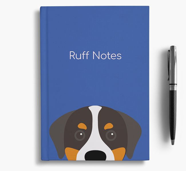 'Ruff Notes' Swissy Notebook