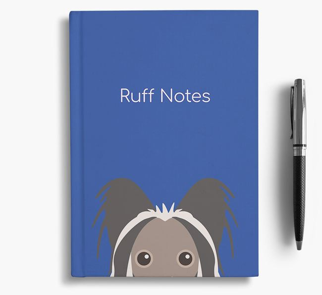 'Ruff Notes' Chinese Crested Notebook