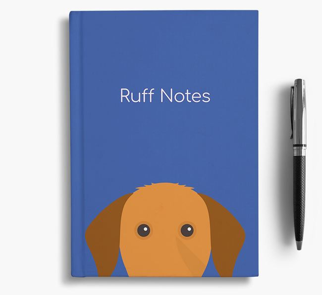 'Ruff Notes' Vizsla Notebook